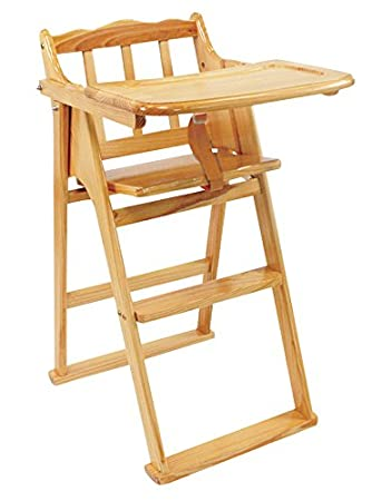 buy lilsta wooden high chair online at low prices in india amazon in
