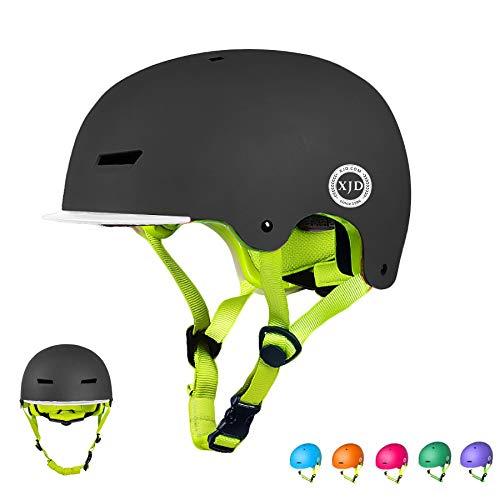 XJD Toddler Helmet Kids Bike Helmet Multi-Sport Cycling Helmet Adjustable Child Helmet Kids Bicycle Helmet Boys Girls…