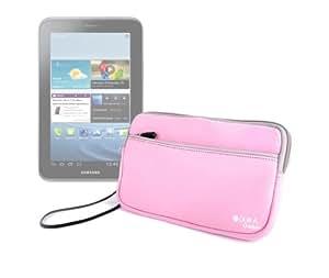 """DURAGADGET Funda Rosa De Neopreno Para Samsung Galaxy Tablet 7""""Tab2 P3110 8GB"""