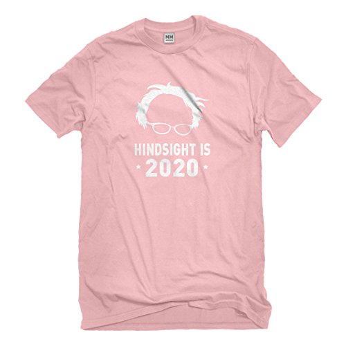 Hindsight Costume (Mens Hindsight is 2020 XX-Large Light Pink T-Shirt)