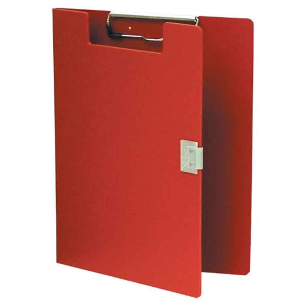 PDC Healthcare PCBR104 Privacy Clipboard, 75 Page Capacity, Red Poly