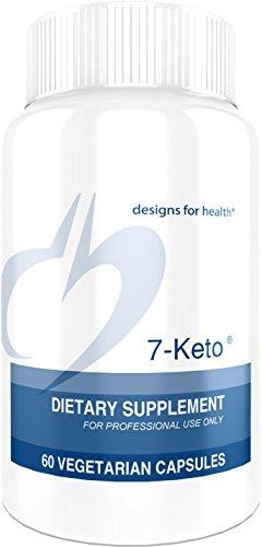 Designs for Health 7-Keto - 100 Milligrams 7-OXO DHEA (60 Capsules)