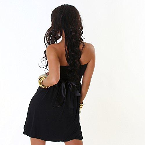JELA London - Vestido - Básico - Sin mangas - para mujer negro