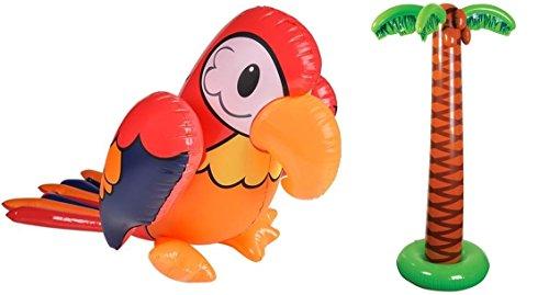 LUAU Inflatables set tropical decorations