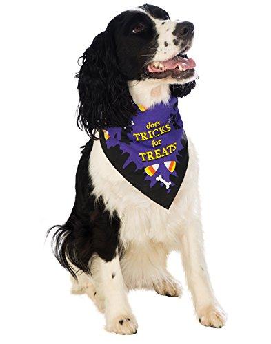 Image of Rubie's Trick for Treats Pet Bandana, Medium/Large