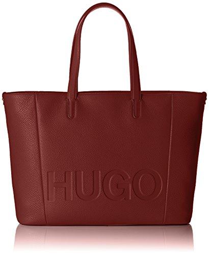 Bolsos Shopper Hombro Mayfair Hugo Red Shoppers Mujer De Rojo dark Y xRf4T1