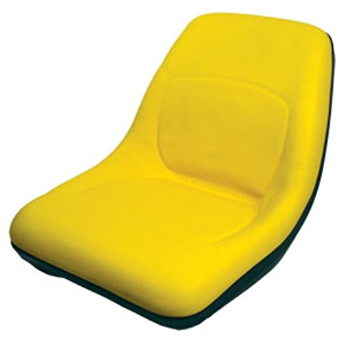 AM879503 New John Deere Compact Tractor Yellow Seat 4010 4100 4110 4115 445 455 by StevensLake
