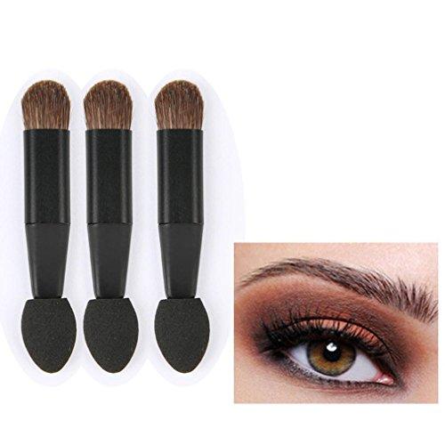 Orangeskycn Makeup Brush Small Horsehair Single Sponge Eye S