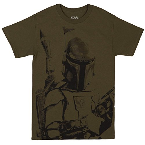 Star Wars Boba Fett Sarlacc Bait Shirt (Medium, Army Green)