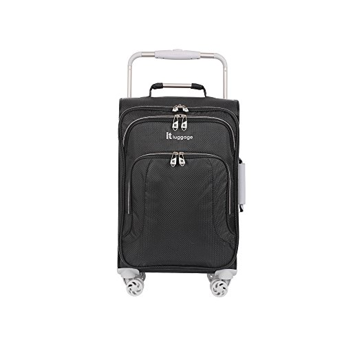 It Luggage Worlds Lightest 8 Wheel 22 Carry On  Raven