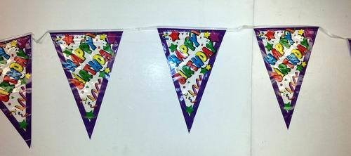 DDI - Happy Birthday Pennant Banner- 12ft (1 pack of 48 items)