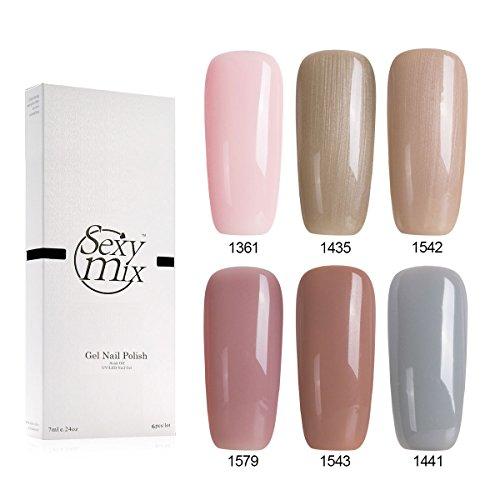 Gel Nail Polish Qatar: Sexy Mix UV Gel Nail Polish Set LED Gel Polish Colors Soak