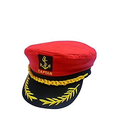 HSL yate barco marinero Capitán disfraz sombrero gorra azul marino ... de4ff5cb14f