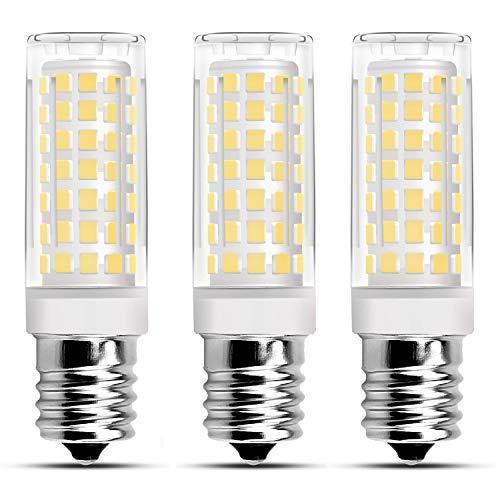 (Ceramic E17 LED Bulb,Microwave Oven Light Bulb 6W Dimmable 480 Lumen Daylight White 6000K AC 120V 60W Equivalent - 3 Pack)