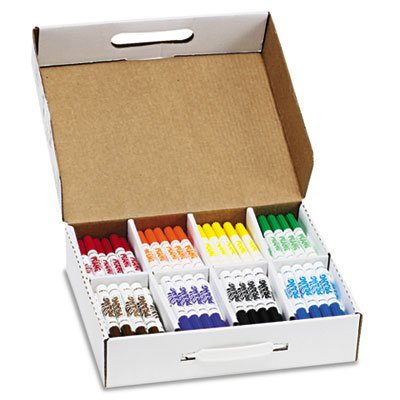 Washable Markers, Eight Assorted Colors, 200/Carton, Sold as 200 Each by Prang