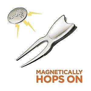 Frogger Hop Magnetic Divot Repair Tool/Ball Marker