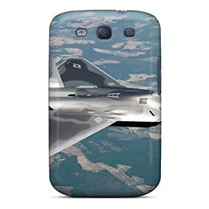Durable Defender Case For Galaxy S3 Tpu Cover(lockheed Martin F22)