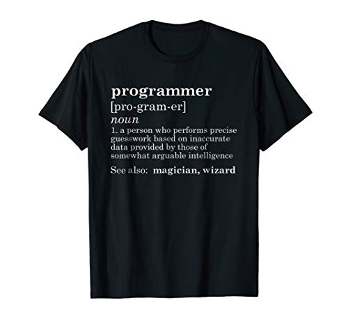 Funny Computer Programmer TShirt Tech IT Definition Gift (Sql Developer The Network Adapter Could Not Establish)