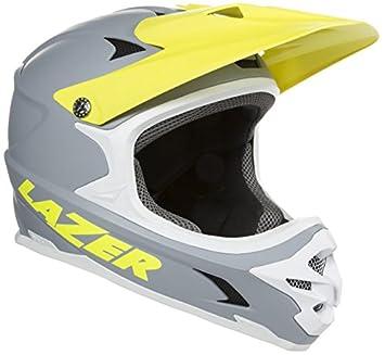 Lazer Casco Phoenix Plus Flash, Todo el año, Unisex, Color Grey/Yellow