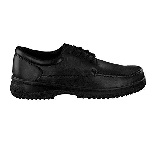 Chaussures Pour À Lacets De Ville Homme Noir Hsm Schwarz qxawFHq
