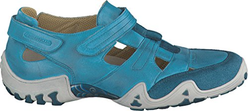 Allrounder by Mephisto Womens Firelli Teal Dye Washed Leather NCM0TBZ7Y