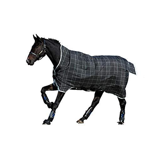 Horseware, Rhino Wug Turnout Heavy Vari-Layer, Black/Grey/White Check & Grey, -