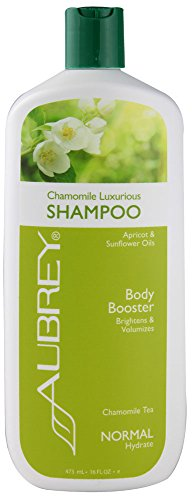 Aubrey Organics Hydrating Shampoo Normal Blue Chamomile -- 16 fl oz