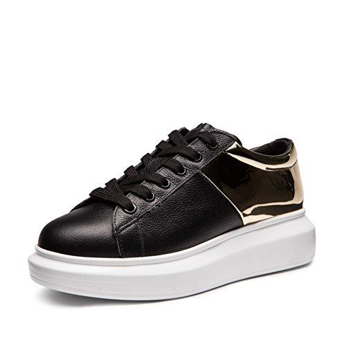 fondo A Otoño Plano De Primavera Zapatillas zapatos Y Correa Moda Lentejuelas Zapatos Zapatos cabeza Casuales Redonda qw0HfU0