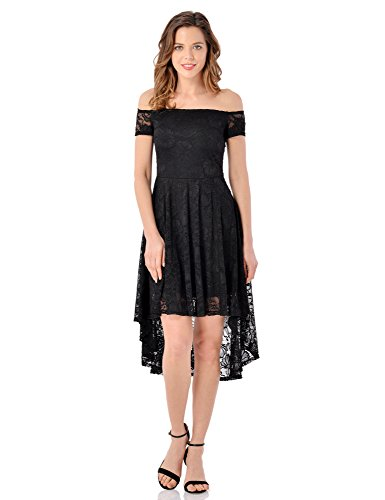 LookbookStore Womens Cocktail Shoulder Skater