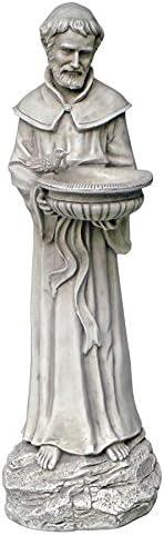 Design Toscano EU1365 Saint Francis Nature's Patron Saint Statue