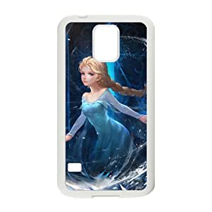 JIAJIA Frozen Princess Elsa Cell Phone Case for Samsung Galaxy S5
