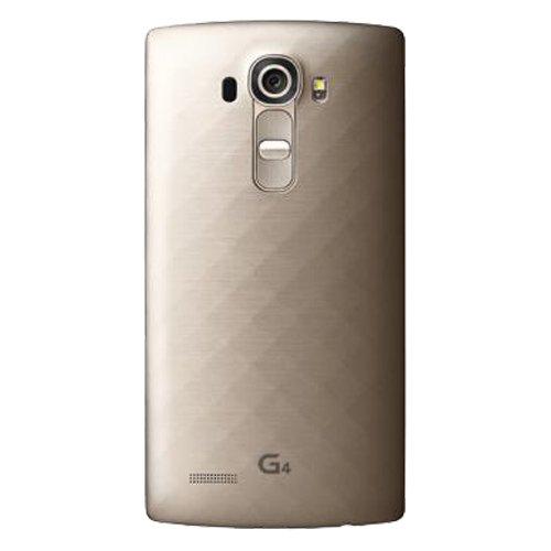 LG G4 GSM Unlocked 32GB Mobile Phone (Gold) – International Version No Warranty