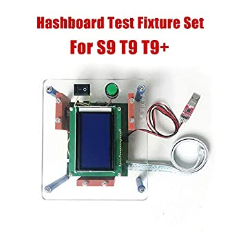 Image of Hashboard Test Fixture Set for S9 T9 T9+ Hash Board Miner Chip Repair Test Stand Replacement Parts