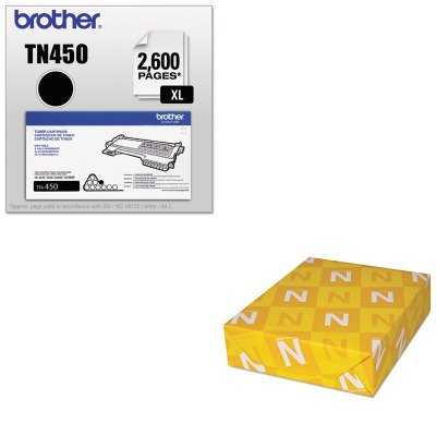 KITBRTTN450NEE01352 - Value Kit - Neenah Paper Classic Crest Stationery Writing Paper (NEE01352) and Brother TN450 TN-450 High-Yield Toner (BRTTN450) by Neenah