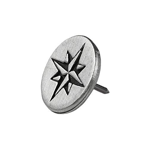 Quality Handcrafts Guaranteed Compass Lapel Pin
