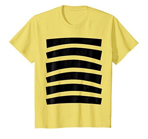 Bee Halloween Costume Shirt Top Cute Honeybee Bumblebee
