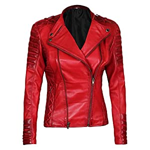 Lentta Mens Casual Slim Autumn Stand Collar Motocycle Zipper Pu Leather Jacket