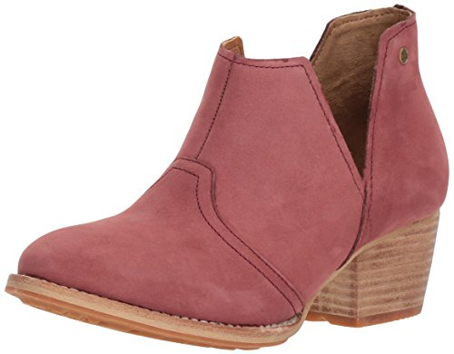 Caterpillar Womens Charade Pull Bootoe With V Shape Cutout Ankle Boot Puritan