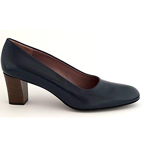 Robert Clergerie Perine Pump Navy Leather Court Shoe imTFG1BMG