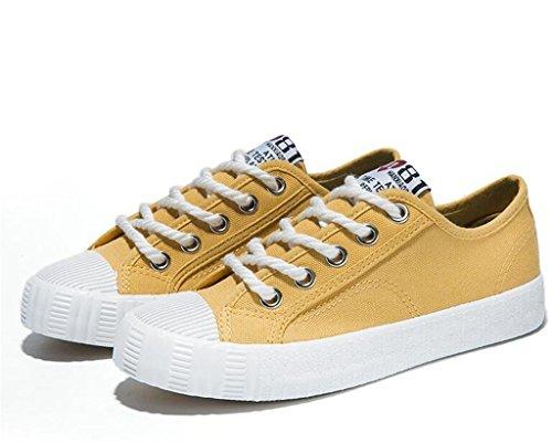 Clásico 1003CM0356CM 36 Lona Simple Comfortable 356cm De Zapatos 36 Señora Plano 0 Tres Diaria Estudiantes 003cm Escuela Bottom Colores Zapatos Ocio 1 XIE q4t17ff