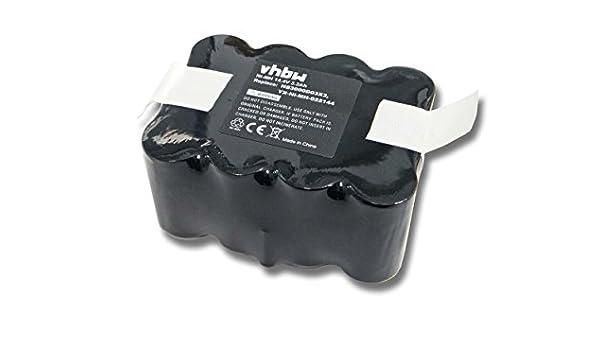 vhbw Batería NiMH 3300mAh (14.4V) para robot aspirador Home Cleaner Solac robot aspirador EcoGenic, R como YX-Ni-MH-022144, NS3000D03X3.: Amazon.es: Hogar