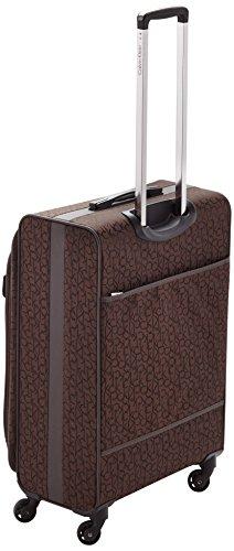 Calvin Klein  Laptop Rollkoffer, 68 cm, 66 L, Braun