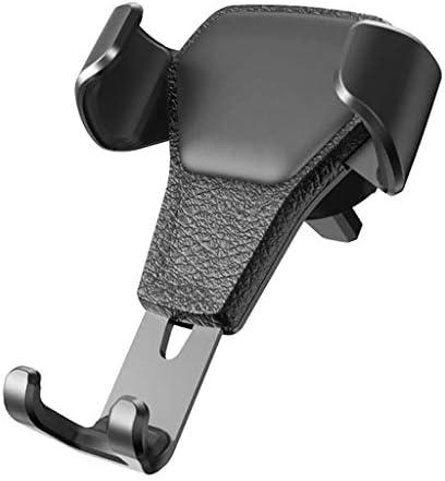 携帯電話ホルダー行く携帯電話ホルダー携帯電話用車の車携帯電話ホルダー車の電話ホルダー車の出口車のバックルユニバーサル多機能サポートナビゲーション (色 : 黒)