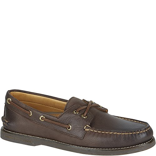 Shoe Sperry Original Men's Boat Authentic Chocolate Sider Gold Top wqvPB0wg