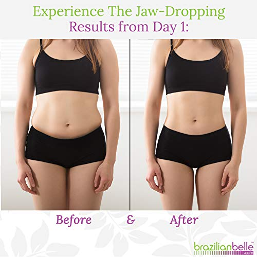 Brazilian Body Wraps - Spa Mud Home Treatment Kit for Women Slimming Home Spa Treatment for Cellulite, Weight Loss, Stretch Marks by Brazilian Belle (Image #6)