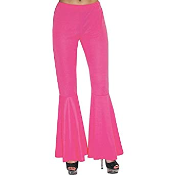 Vintage High Waisted Trousers, Sailor Pants, Jeans Womens Pink Hippie Pants $10.50 AT vintagedancer.com
