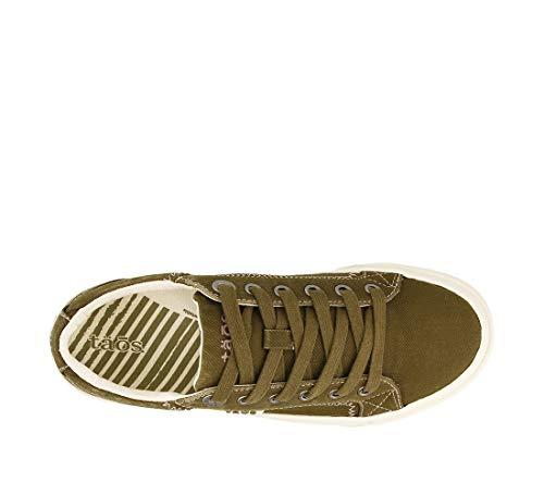 Soul Plim Taos Footwear Canvas Sneaker Women's Olive HqEAtxBw