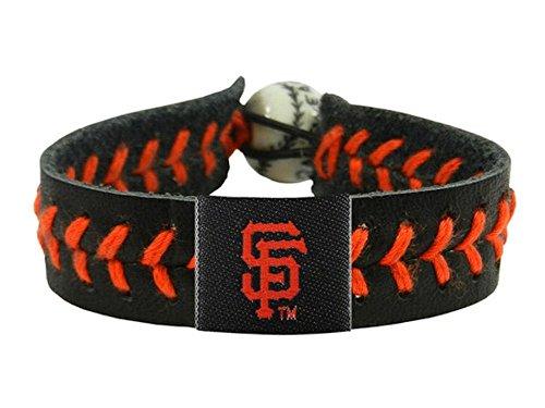 San Francisco Giants Baseball Bracelet - Team Color Style