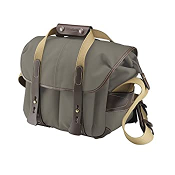 Image of Billingham 207 Camera Bag (Sage with Chocolate Leather) Camcorder Cases