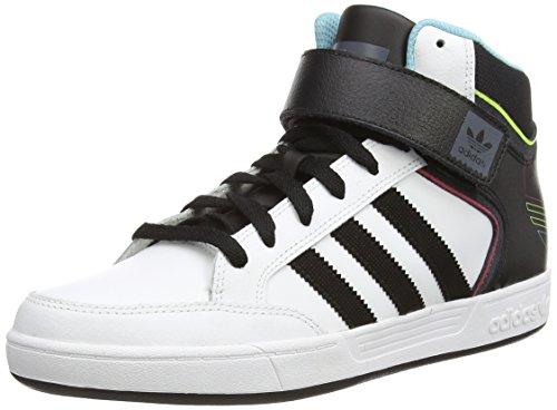adidas Varial Mid, Herren Skateboardschuhe, Weiß (Ftwwht/Cblack/Ltaqu), 41 1/3 EU (7.5 Herren UK)